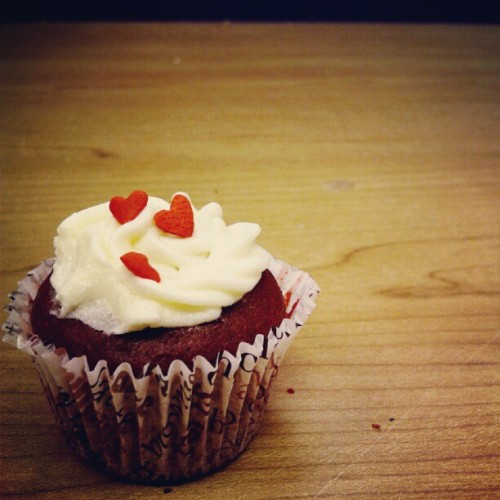 Thank you @ricamaeramos! :) #cupcake (Taken with Instagram)