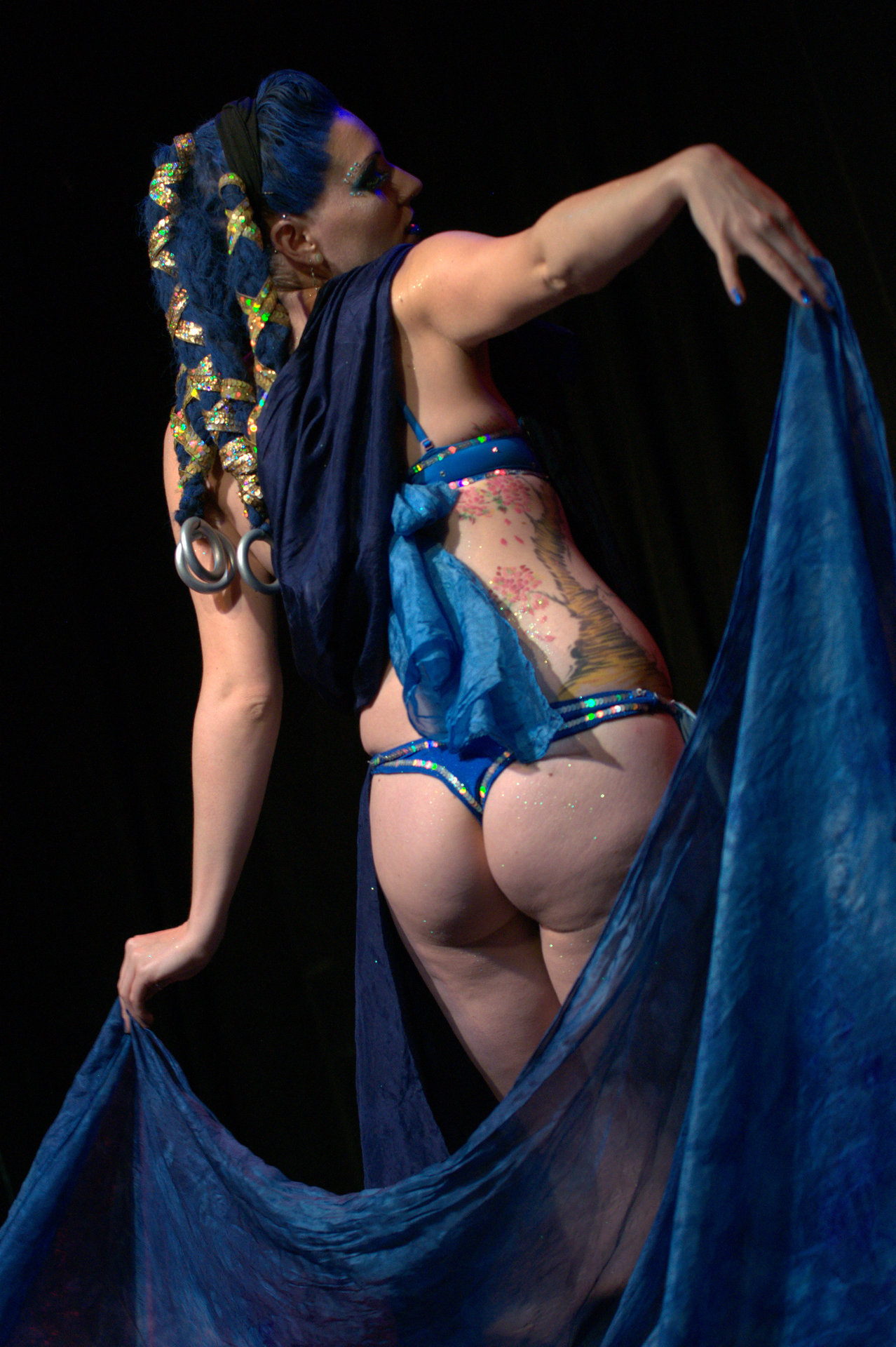 August 1, 2012 Final Fantasy Burlesque.  Apparently, her favorite Summon is Shiva. I was kinda hoping for Fat Chocobo, but oh well.