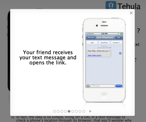 Tehula - The slideshow demo uses names of characters from Lost. /via Adrien
