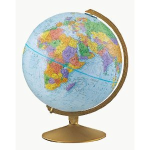 pantsareforassholes:  Hey, crafty people! I have a globe similar to the one pictured, and I want to stain it so that it looks antique. Does anyone out there have any thoughts? Is this even possible? I'd buy a globe that already looks like what I want, but globes are bloody expensive. I've had mine since I was a kid, and I want it to fit in with a theme I have in mind for my room. Would tea do the trick? Or would that just ruin it and make it look like I dropped it in the gutter?  Kinda like this? Come on, someone out there's got an answer for this. I know you Pinterest people know how to do cool shit.