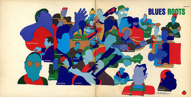 Album Cover by Milton Glaser (1978) by P-E Fronning on Flickr.