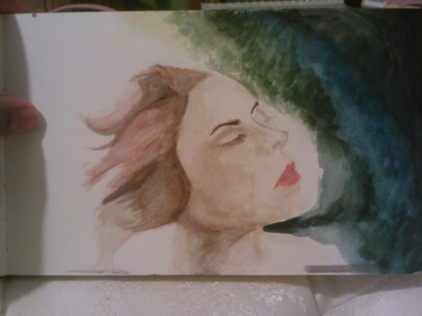 lazy little watercolor i've been working on. i have no real methods when it comes to stuff like this.