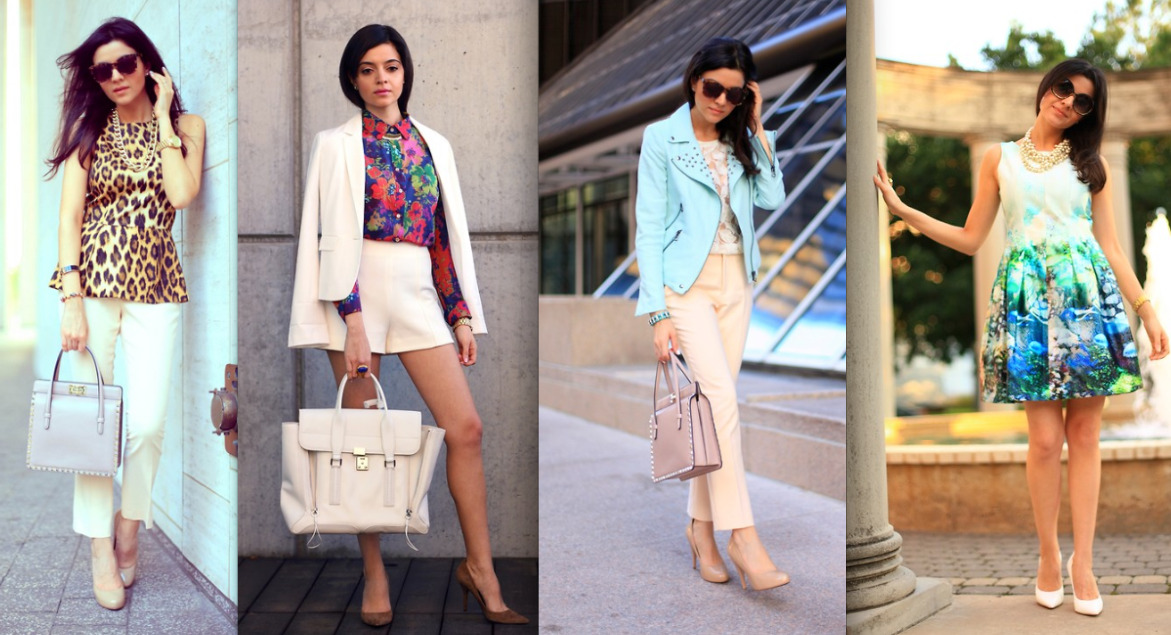 thestyleline:  LAYLA ASGARI 29, DENTIST AND FASHION BLOGGER, USA LAYLA'S STYLE: I would say my style is definitely colorful but with a classic silhouette.  INSPIRATION: I get inspiration from so many things and people that surround me everyday. Sometimes, it is a picture I see while I am browsing the internet or a magazine. I also get inspiration for many of my outfit posts from runway shows and editorials. Many times, I get inspiration from fellow fashion bloggers. There are so many talents on the world wide web.  HERO: I don't really have one specific hero. I think in general, my hero is any woman that takes charge of her life and does what she loves, and loves what she does….and is good at it.  HEELS OR FLATS?  Heels for sure! Mostly because I am petite.  FAVORITE SUMMER TRENDS: My favorite trends of the summer have been neons, color-blocking, the color mint on basically anything and everything, and floral prints.  SUMMER LOVIN: I am working at my day job as a dentist, writing a fashion book for Houston, and of course, blogging about fashion. I listen to a lot of dance music, like David Guetta, Avicii, and Deadmau5. I am usually wearing my favorite cut-offs or colored skinny jeans, and I am constantly trying out different sunglasses. My favorite pair right now is from Karen Walker.   ——————————————————————————————————- like what you see? link up with layla by checking out her site here: http://chicchefblog.com
