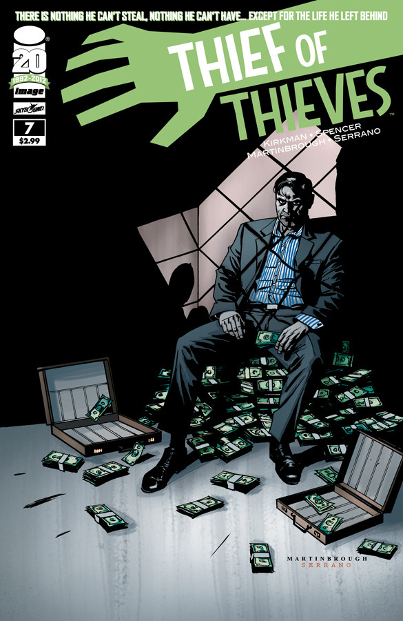 Thief of Thieves, new issue out today. In the world of comics, this is just great stuff.