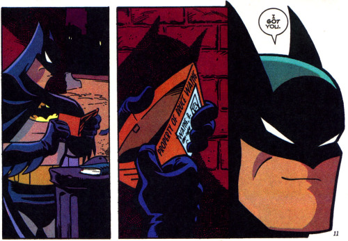 Batman Adventures v1 #33 - Just Another Night