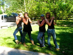 apparently we thought we were the dixie chicks.