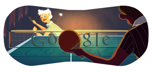oliphillips:  Olympic Table Tennis Google Doodle