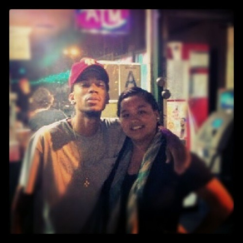 I love that I meet @KILLHodgy as he was walking down the street smoking his blunt #legit #OFWGKTA #Hodgy (Taken with Instagram)