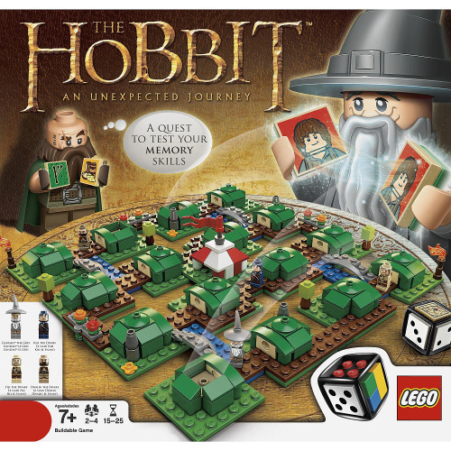 legozz:  The Hobbit Board Game (by fbtb)