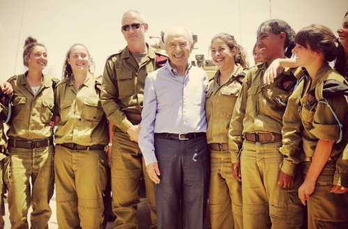 Wishing President Shimon Peres a happy 89th birthday! IDF Facebook Page