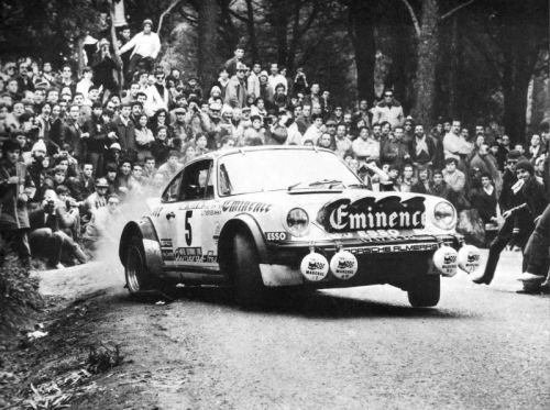 1981 Rally of Portugal Jean-Luc Therier (Porsche 911)