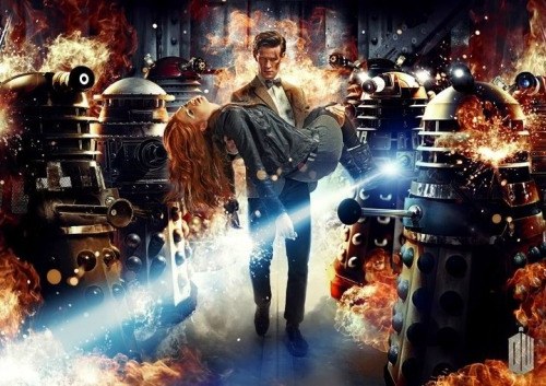 Doctor Who series 7 artwork.