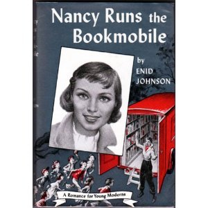 lavacheestdanslepre:  Nancy runs the bookmobile.