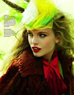 Hanna Bruning for El Pais Semanal December 2011