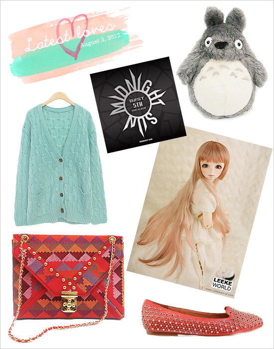 Today's Latest Loves post doesn't have a theme; it's just a collage of stuff that I've been drooling over the past month. Unfortunately, I am broke from my HK Dollism trip, so I can only stare at them for now. xD Read more
