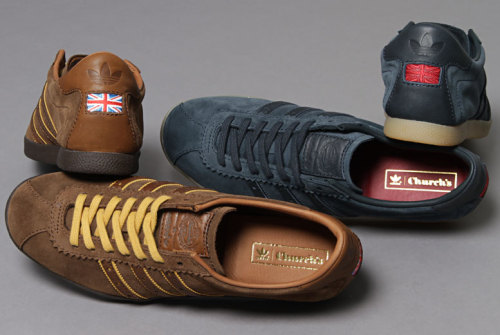 CULT Want: Church's x Adidas 'London' Olympic shoe. The grand daddy of high end traditional English footwear has teamed up with Adidas to create one hell of a retro beauty.