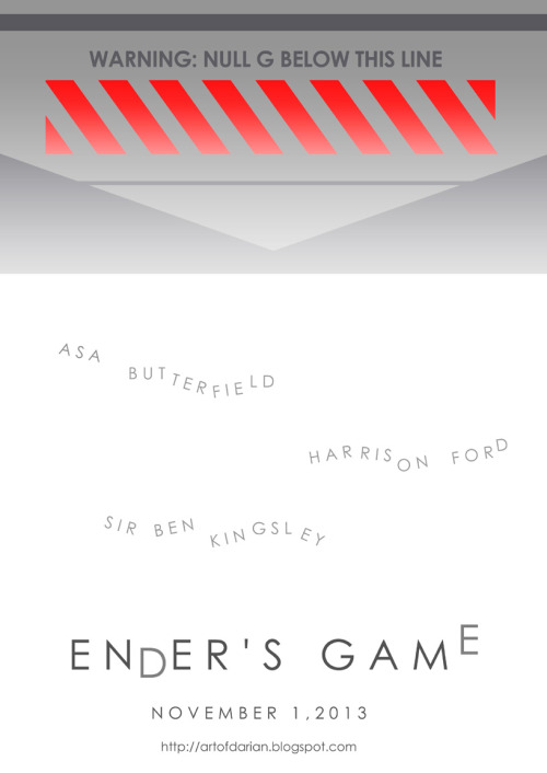Warning: NULL G Below This Line. #Endersgame #November #2013