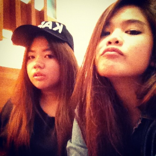 SWAG SISTA (Taken with Instagram at ZEN Japanese Restaurant)