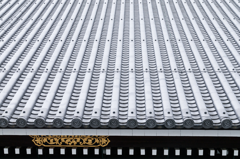Roof tile pattern | Miei-do, Higashi Hongan-ji