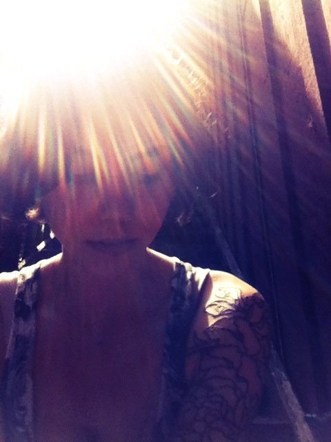 Sunshine#ME #sun #summer #selfportrait #gpoy #sleeve #tattoo #tattoos #beautiful #light(from @veganlove on Streamzoo)