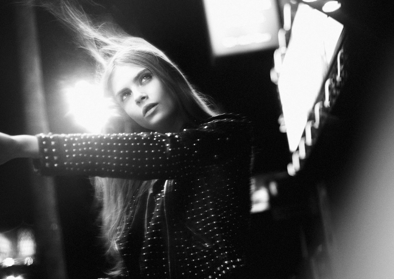 Cara Delevingne for Zara Fall Winter 2012.13