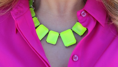 (via My Style / Neon Yellow & Hot Pink)