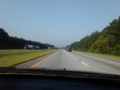 South Carolina is probably the most boring state to drive through on the east coast.