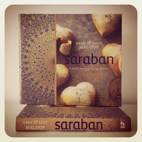 Saraban paperback is gorgeous! Out in Nov #books #cookbooks #middleeasternfood #travel #photography (Taken with Instagram)