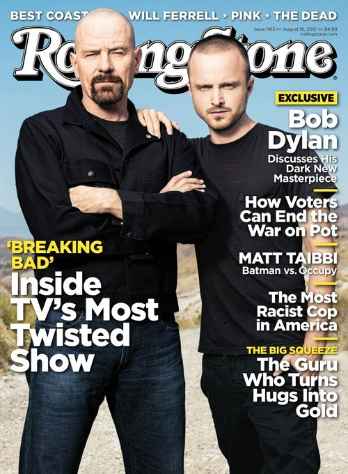 'Breaking Bad' covers Rolling Sone On the Cover: 'Breaking Bad' Stars Bryan Cranston and Aaron Paul | Rolling Stone
