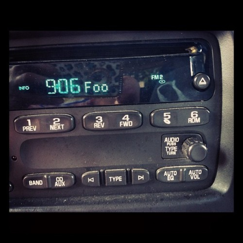 101.9 is so much better here than at home! #nynewrock #1019 #sutro #foofighters #foo @foofighters  (Taken with Instagram at Jobber1 Hudson Wholesale)