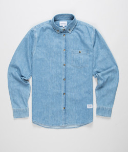 streetstylemarket:  Norse Projects Anton Denim Shirt