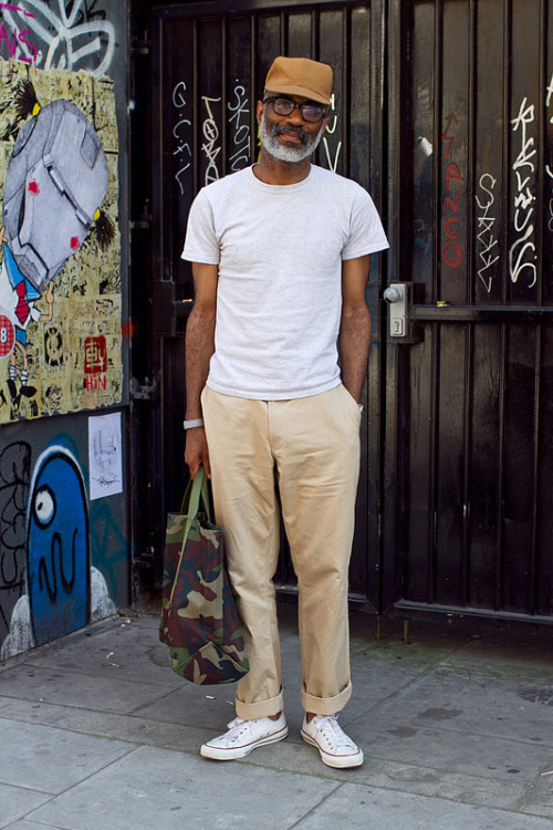You can't fake this…. giantbeard:  StreetStyle  ( via coggles )