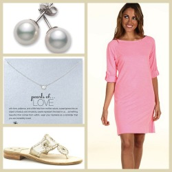 OOTD | August 2 Lilly Pulitzer dress Dogeared necklace Jack Rogers sandals
