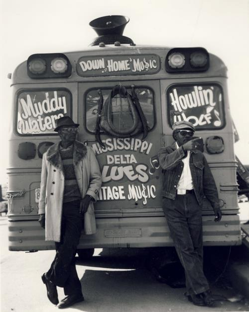 snakeoilrecording:  Muddy Waters / Howlin Wolf Tour
