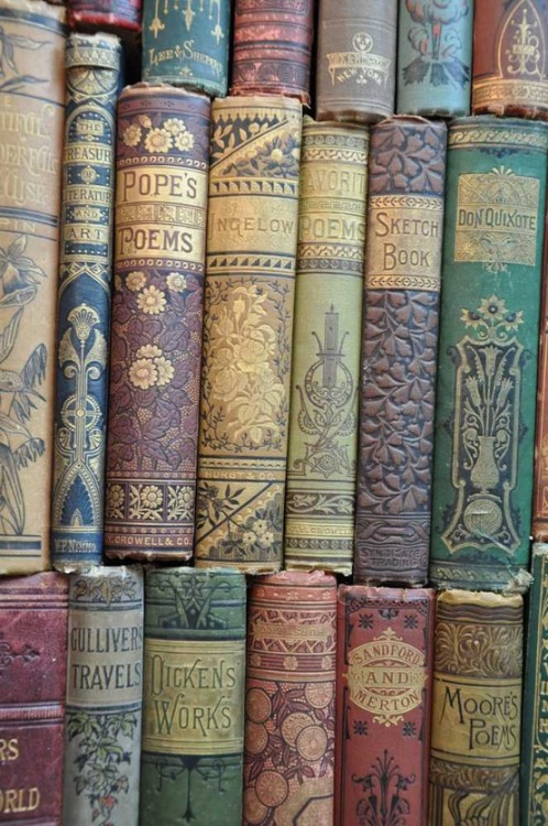 Some beautiful Book-spines! #books