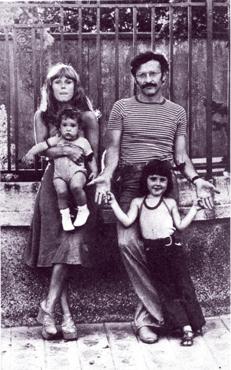 Jean Giraud and family, 1975
