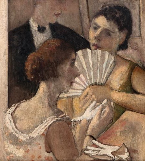 Nella Marchesini, Women with a Fan 1925