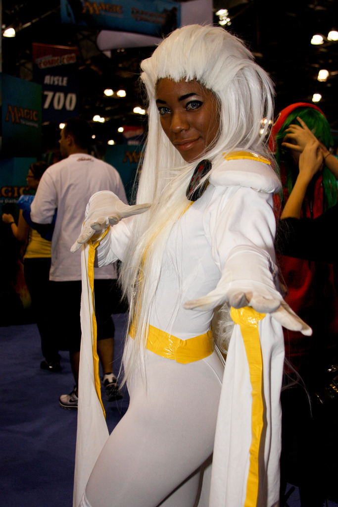 X Character: Storm Series: X-men
