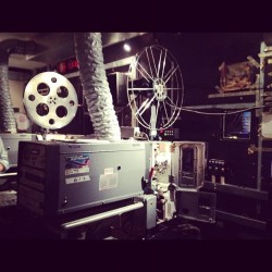 Got to tour the projectionists room at broadway today YeY! (Taken with Instagram at Broadway Cinema)