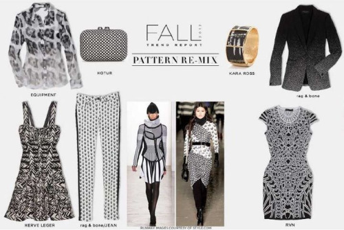 Some favorites from the new Intermix Fall look book. You can never go wrong with black and white in my opinion!