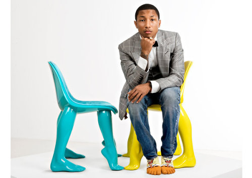Pharrell Williams (NY Times article 8/2/12)