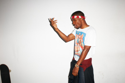 terrysdiary:   Frank Ocean at my studio #50