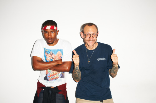 Me and Frank Ocean at my studio
