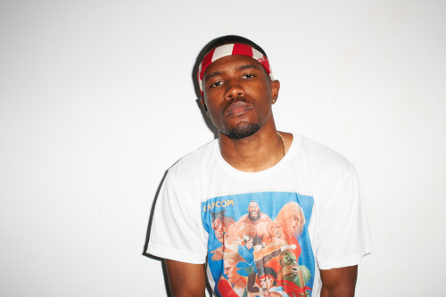 Frank Ocean at my studio #53