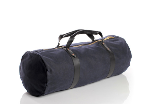Draught Dry Goods - Waxed Getaway Duffel So ideal.