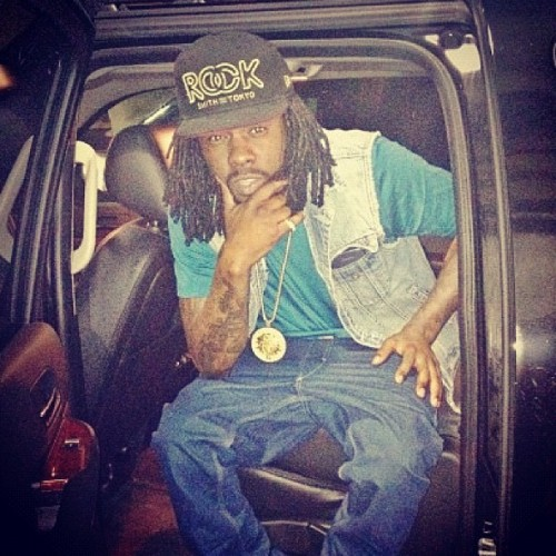 Shouts to #Wale rockin our Boss Fitted. #salute #BOA #MMG (Taken with Instagram)