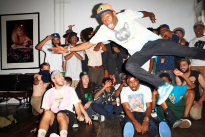terrysdiary:   Odd Future at my studio #34