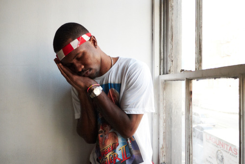 Frank Ocean at my studio #49