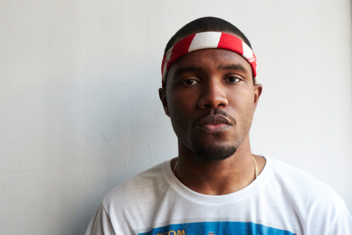 Frank Ocean at my studio #57