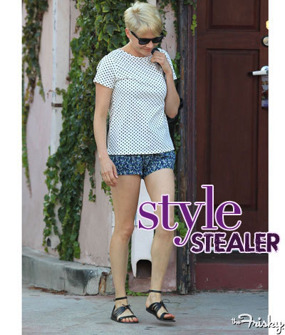 Style Stealer: Michelle Williams' Short And Sweet Look